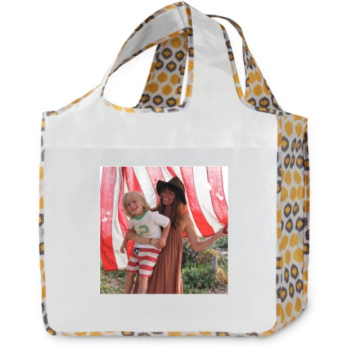 Ikat Droplet Reusable Shopping Bag