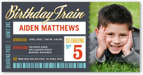 Party Pass Birthday Invitation by Float Paperie