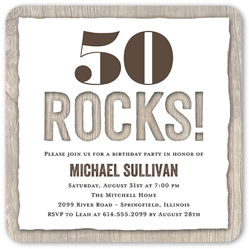 50th birthday invitations shutterfly filmwisefo