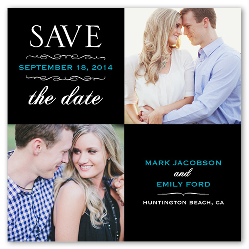 Fancy Fonts Save The Date