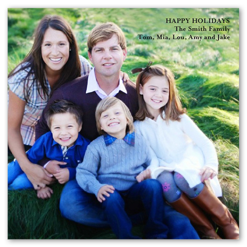 Gallery Greetings Holiday Card, Square