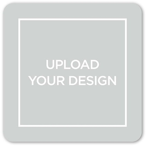 Upload Your Own Design Valentine's Card, Rounded Corners