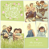 so happy together easter card 5x5 flat