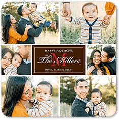monogram moments christmas card - Shutterfly Holiday Cards