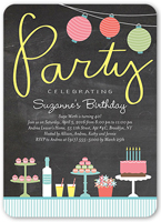 Teen Birthday Party Invitations Shutterfly