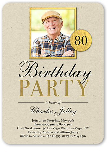 90th Birthday Invitations Shutterfly