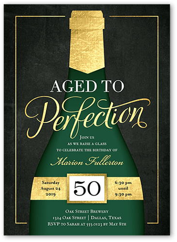 Perfectly Aged 5x7 Stationery Card By Stacy Claire Boyd Shutterfly