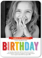 bright celebration birthday invitation 5x7 flat