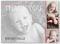 Baby Girl Thank You Cards Shutterfly