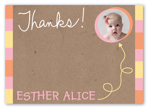Birthdays Thank You Cards Personalized Thank You Notes – Personalised 1st Birthday Thank You Cards