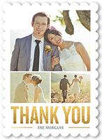 Sparkling Gratitude Thank You Card