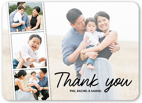 Filmstrip Thank You Thank You Card