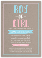 cheap gender reveal invitations