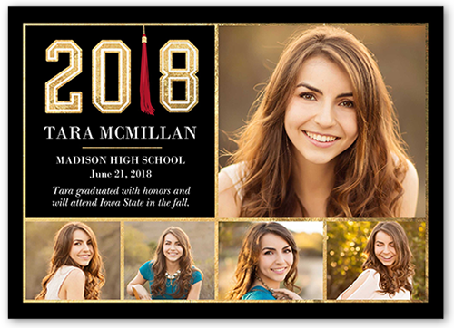 Phenomenal Tassel Graduation Announcement
