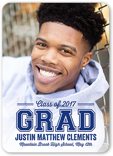 Modern Grad Graduation Announcement
