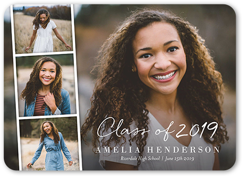 Filmstrip Grad Graduation Announcement