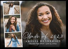 filmstrip classic grad graduation announcement