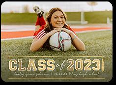 valid bold disciple graduation announcement