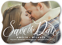 special script save the date