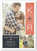 be there save the date 5x7 flat