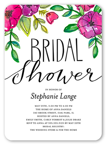 bridal brunch invitations shutterfly
