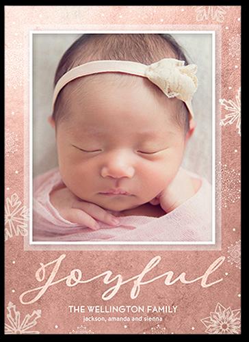 Joyful Wonder Holiday Card