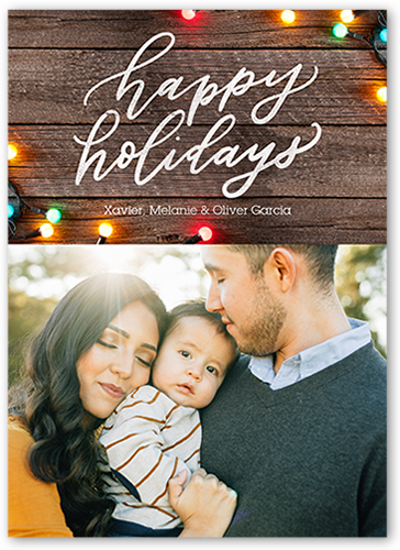 Bright Light Greeting Holiday Card