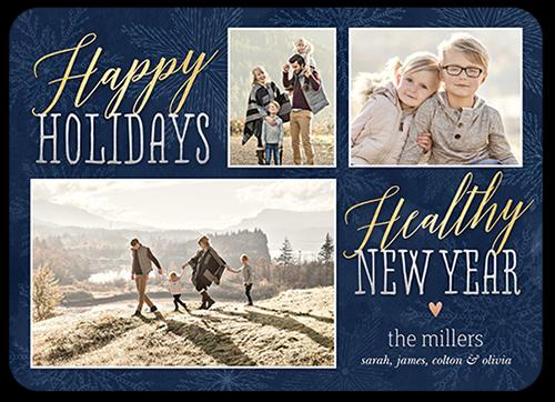 Cheerful Seasonal Greeting Holiday Card