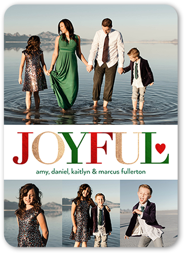 Our Joyful Hearts Holiday Card