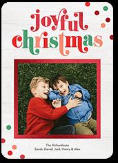 joyful times holiday card