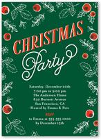 Christmas invitations amp christmas party invitations shutterfly