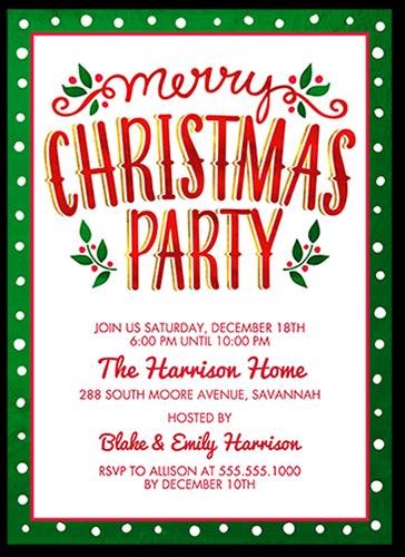 Celebrate This Season Holiday Invitation