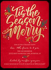 Christmas Invitations.Christmas Party Invitations Shutterfly