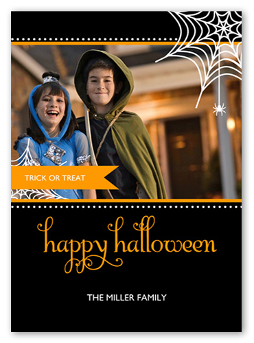 In Our Web Halloween Card
