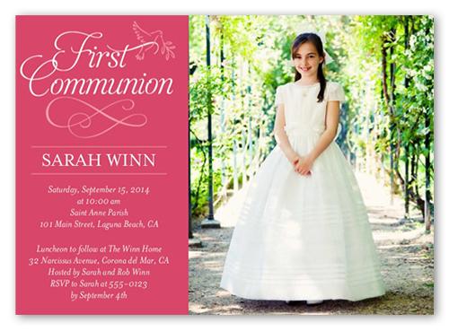 Script Communion Invitation