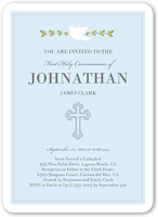 graceful dove communion invitation 5x7 flat