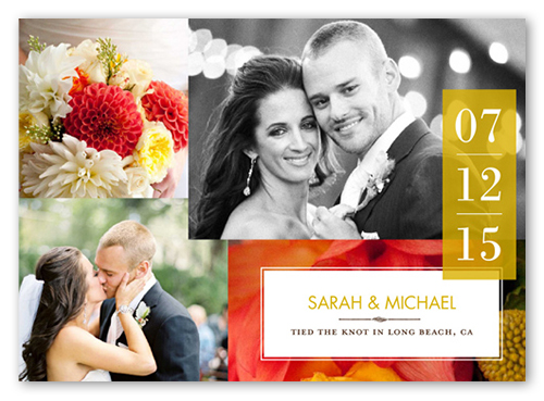 Sweet Ever After Wedding Announcement