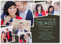 perfect knot engagement party invitation 5x7 flat