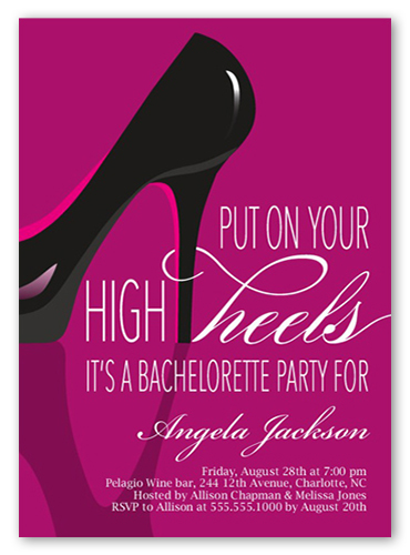 4 Photo Bachelorette Party Invitations Amp Bachelorette