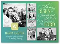 he is lord easter card 5x7 flat