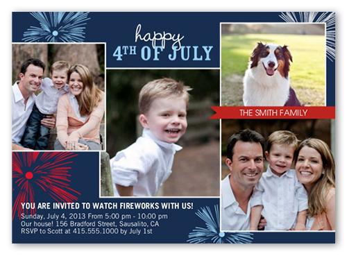 Bring Fourth Memories Summer Invitation, Square
