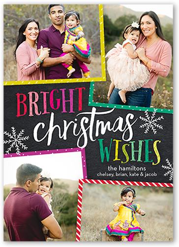 Colorful Fun Christmas Card