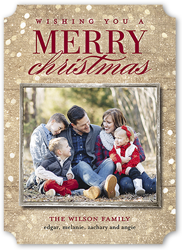 Sparkly Light Christmas Card