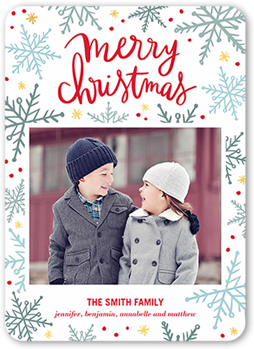 Whimsy And Merry Christmas Card