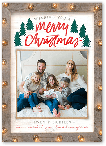 Merry Marquee Christmas Card