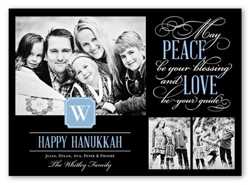 Loving Every Moment Hanukkah Card, Square Corners