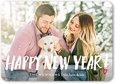 new years card from 158 099 custom color palette colors of this design can be customized