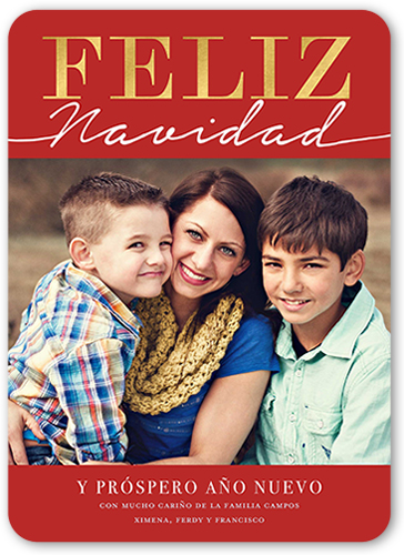 front - Shutterfly Holiday Cards