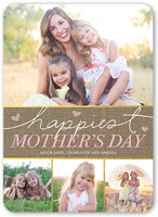 happiest hearts mothers day card 5x7 flat