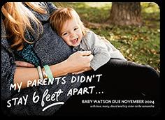 a little memo pregnancy announcement